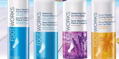 Spray pentru picioare