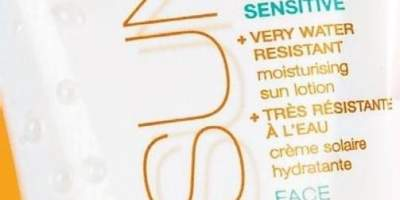 Lotiune dupa hidratare SPF 50 rezistenta la apa