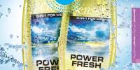Gel de dus 2 in 1 Power Fresh