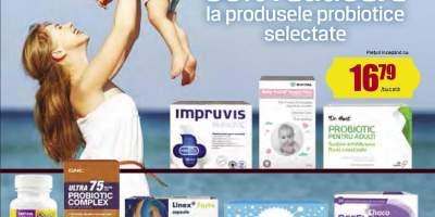 30% Reducere la produsele probiotice selectate