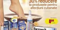 30% reducere la produsele pentru afectiuni cutanate