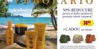 50% reducere pentru al doilea produs de protectie solara cumparat