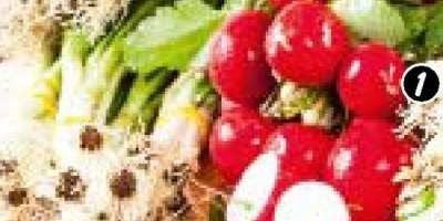 Ridiichi roz/usturoi verde