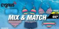 Costum de baie dama Mix&Match Cygnus