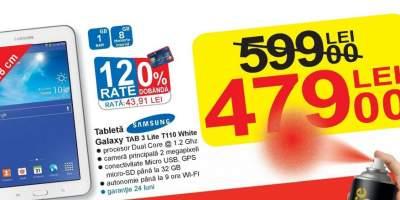 Tableta Samsung Galaxy TAB 3 Life T110 White