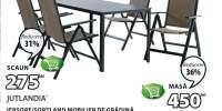 Mobilier de gradian Jersore/Sortland