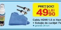 Cablu HDMI 1.5 m HAMA + solutie de curatat TV