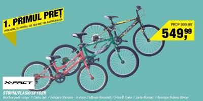 Biciclete pentru copii X-Fact