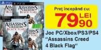 Joc PC/Xbox/PS3/PS4 'Assassins creed 4 Clack Flag'
