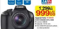 Aparat foto Canon EOS1100DBK EFS-1855