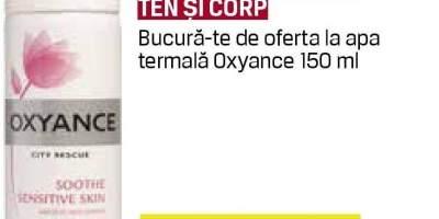 Oxyance - ingrijire ten si corp