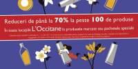 Reduceri de pana la 70% la peste 100 de produse in toate locatiile L'Occitane