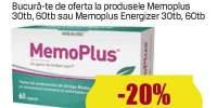 Produse Memoplus/ Memoplus Energizer pentru memorie