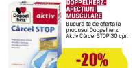 Tratament afectiuni musculare Doppelherz Aktiv carcei stop