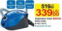 Aspirator dual Bosch BSGL 32383