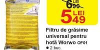Filtru de grasime universal pentru hota Worwo