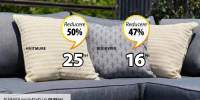 Reducere intre 30-70% la toate pernele decorative