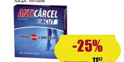 Anticarcel afectiuni musculare