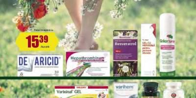 30% Reducere la produsele pentru picioare grele si varice