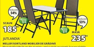 Mobilier de gradina Mellby/ Sortland Jutlandia