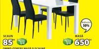 Masa si scaune Omme + Toreby