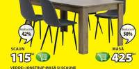 Masa si scaune Vedde + Jonstrup