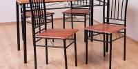 Set masa x 4 scaune 'Frankfurt'