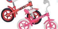 Bicicleta fara pedale 'Cars/ Hello Kitty