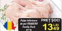 Pulpe inferioare de pui Family Pack