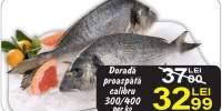 Dorada proaspata calibru 300/400