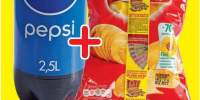 Pepsi-Cola 2.5 L + Chips Lay's 140 grame