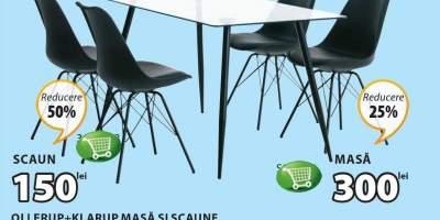 Set dining masa si scaune Ollerup + Klarup