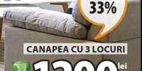 Canapea Gedser 3 locuri
