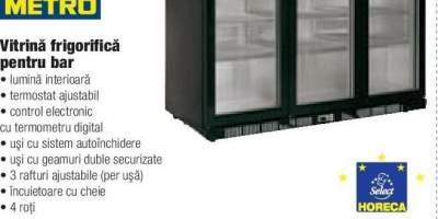Vitrina frigorifica pentru bar