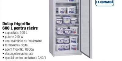 Dulap frigorific 600 L pentru racire