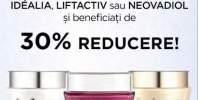 30% reducere la cremele de fata Vichy