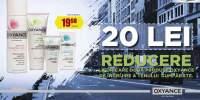 20 lei reducere la oricare doua produse Oxyance cumparate!