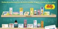30-50% reducere la produsele pentru imunitate
