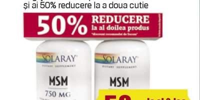 Pana la 50% reducere la al doilea produse Secom pentru articulatii