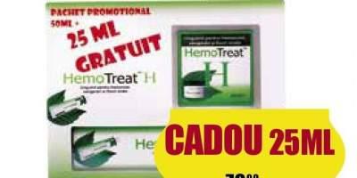 Pachet pentru hemoroizi Hemotreat