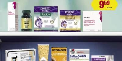 Pana la 30% reducere la produsele pentru dureri articulare