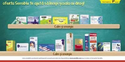Reducere intre 30-50% la medicamente pentru calm si energie