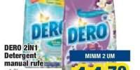 Dero 2 in 1 detergent manual rufe