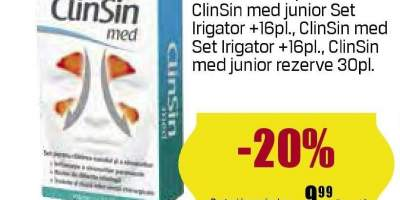 Spray decongestie nazala Clinsin Med