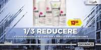 1/3 reducere la toate produsele de curatare a tenului din gama Oxyance