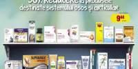 30% reducere la produsele destinate sistemului osos si articular