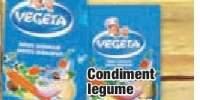 Condiment legume
