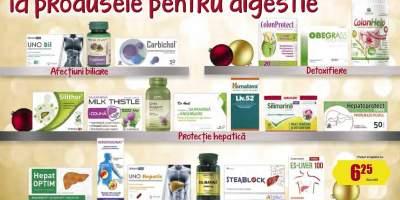 Pana la 50% reducere la produse pentru digestie