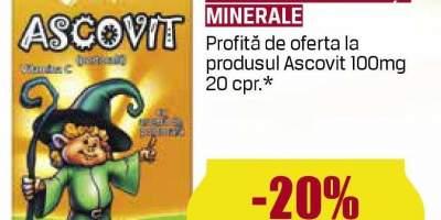 Ascovit - vitamine si minerale