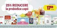 25% reducere la probiotice copii